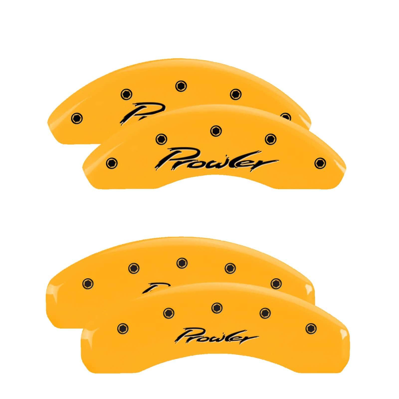 MGP Caliper Covers For Chrysler Prowler (Yellow)