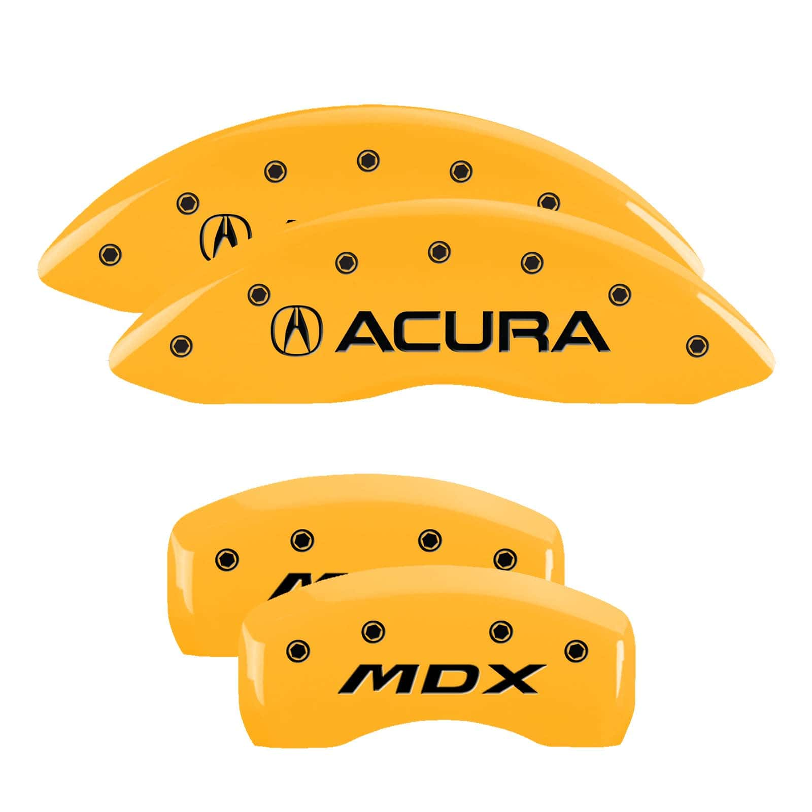 Acura Mdx 2010 For Sale: MGP Caliper Covers For Acura MDX (Yellow)