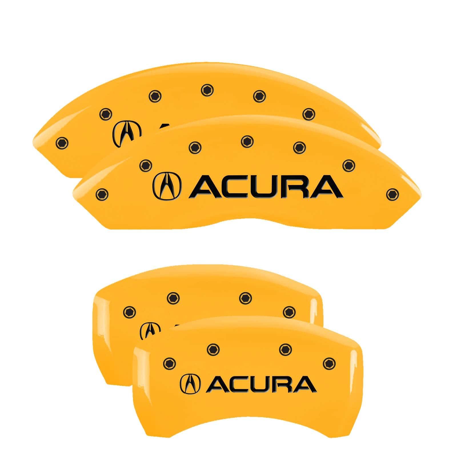MGP Caliper Covers For Acura RLX (Yellow)