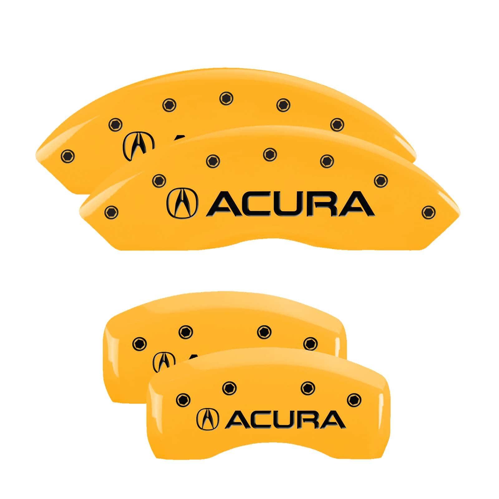 MGP Caliper Covers Acura RL (Yellow)