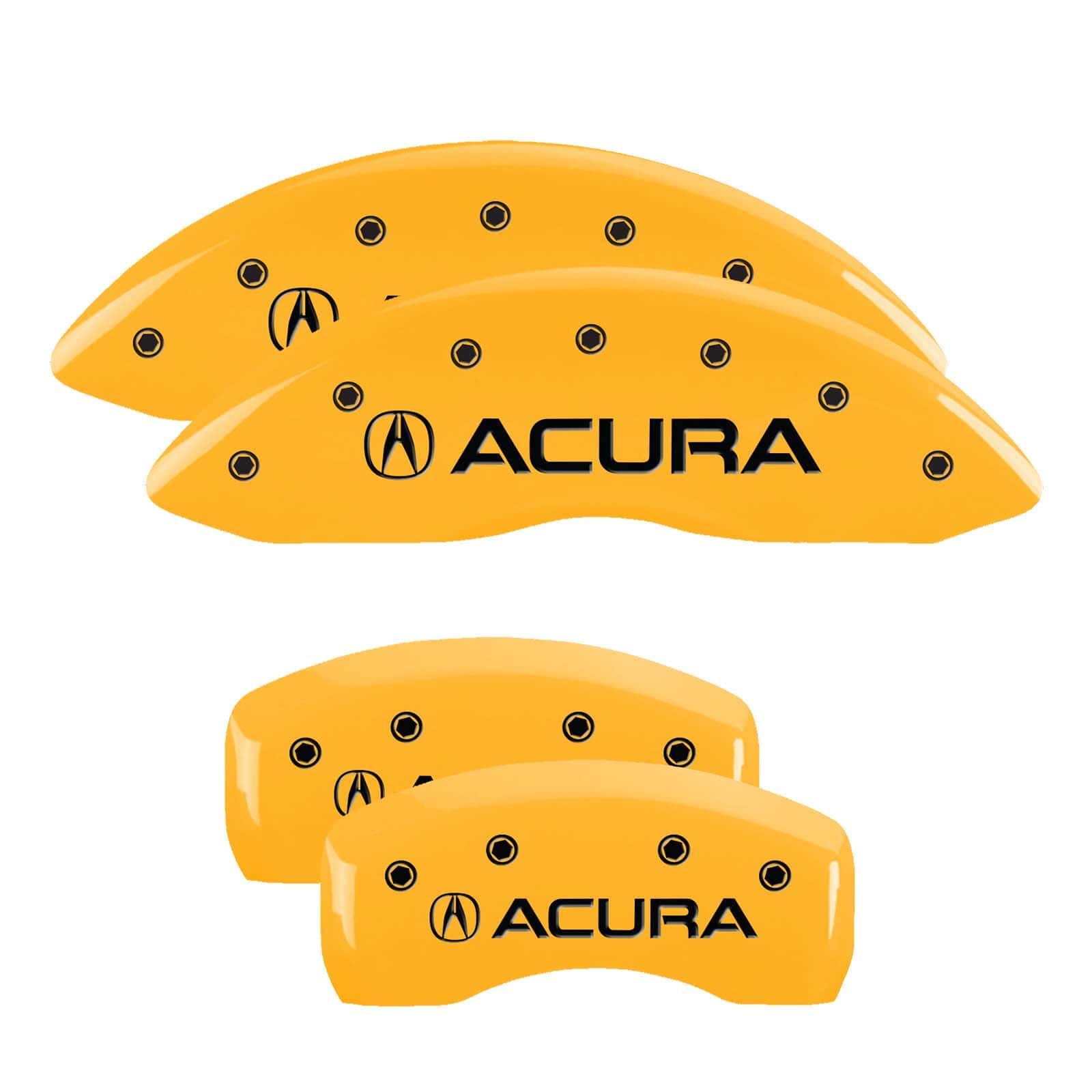 MGP Caliper Covers For Acura RDX (Yellow)
