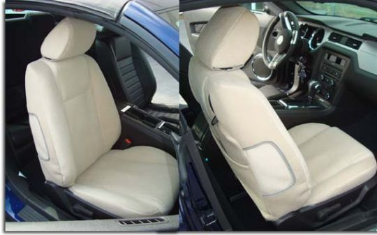 Enjoyable Custom Fit Seat Covers For 2015 2016 2017 Ford Mustang Alphanode Cool Chair Designs And Ideas Alphanodeonline