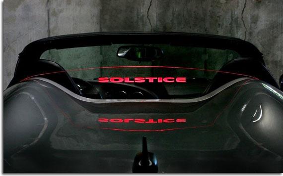 Wind Restrictor Logo Wind Screen For 2006 2009 Pontiac