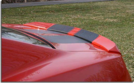 Sinister Camaro Dovetail Rear Spoiler