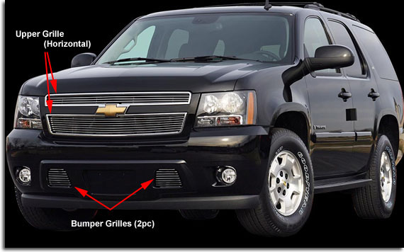 Carriage Works Billet Grilles 07 09 Tahoe