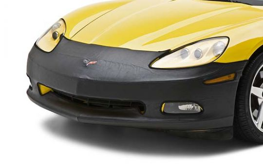 Black Coverking Custom Fit Front End Mask for Select Chevrolet Camaro Models Velocitex Plus
