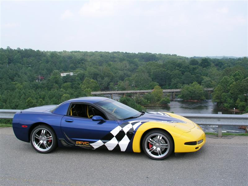 2003 Corvette Z06 - From Rush Hour to Race Track   PFYC